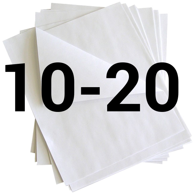 Coupe entre 10 et 20 feuilles à la fois