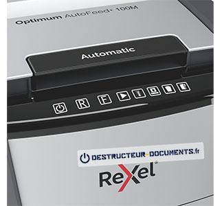 Rexel Optimum Auto+ 100M - vue 4