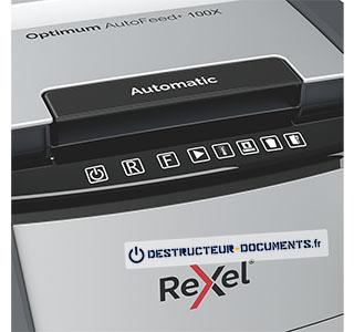 Rexel Optimum Auto+ 100X - vue 4