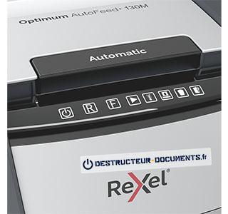 Rexel Optimum Auto+ 130M - vue 3