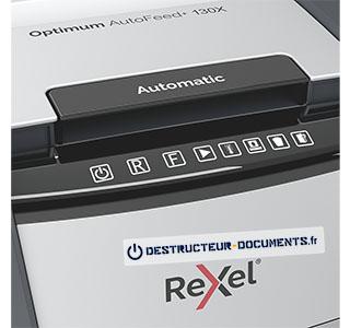 Rexel Optimum Auto+ 130X - vue 4