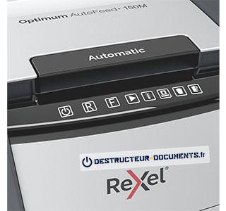 Rexel Optimum Auto+ 150M - vue 4