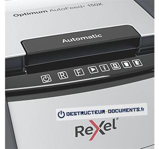 Rexel Optimum Auto+ 150X - vue 4