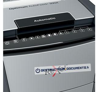 Rexel Optimum Auto+ 300X - vue 4