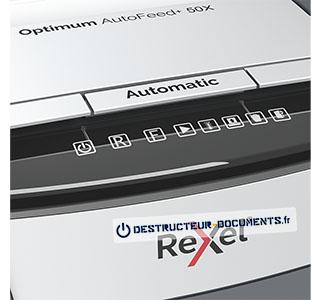 Rexel Optimum Auto+ 50X - vue 4