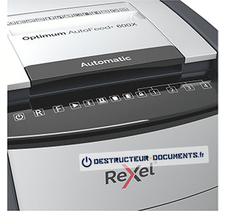 Rexel Optimum Auto+ 600X - vue 4