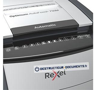 Rexel Optimum Auto+ 750M - vue 4