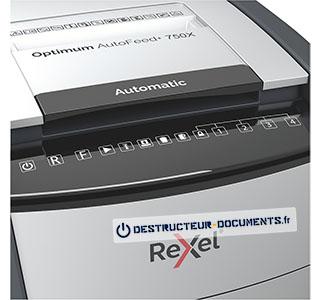 Rexel Optimum Auto+ 750X - vue 4