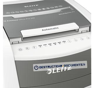 Leitz IQ Autofeed Office 600 securite P4 - vue 4