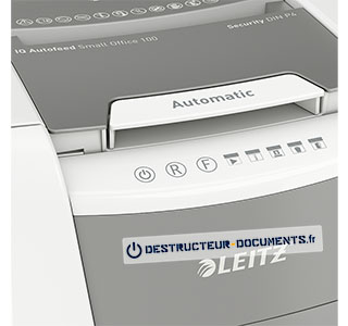 Leitz IQ Autofeed Small Office 100 securite P4 - vue 4