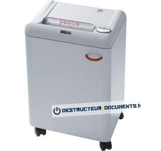 Déchiqueteuse de papier haute sécurité Ideal 2360 C M