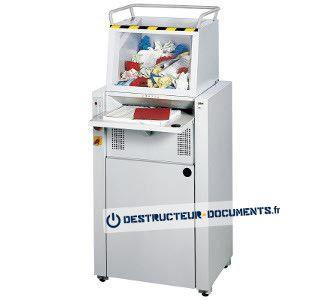 Destructeur de documents haute capacité Ideal 4605CC 2x15mm